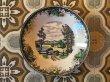 画像2: ヴィンテージ クラシックな風景画の深皿 φ19cm×h4cm (2)