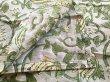 画像3: インド ブロックプリント ハンカチ グリーン (3)