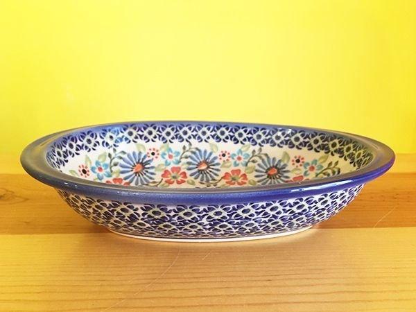 画像1: 【再入荷】WIZA社 ポーリッシュポタリー グラタン皿 フラワーガーデン (1)