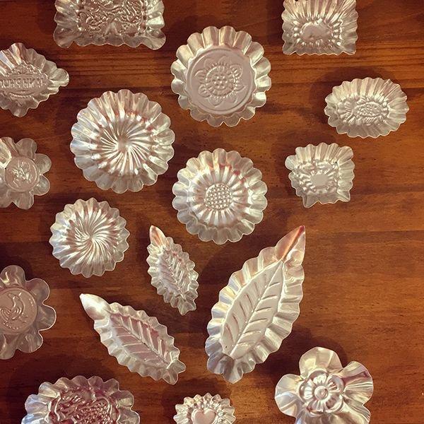 画像1: ベトナム アルミ 菓子型 17種類 (1)