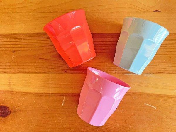 画像1: RICE カラーメラミンカップ M (1)
