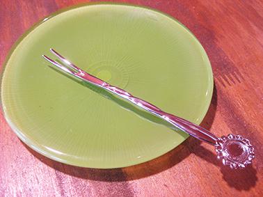 画像4: 【再入荷】日本製 フラワーカトラリー デザートフォーク ヒマワリ