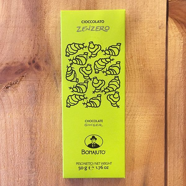 画像1: ANTICA DOLCERIA BONAJUTO 古代チョコレート ジンジャー (カカオマス65%)